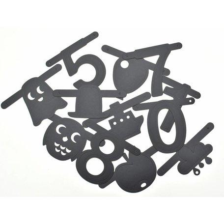aanvulpakket DIY-letterslinger