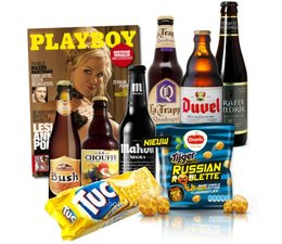 Bierpakket Speciaalbier + Playboy en Snack