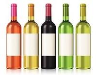 Fles wijn 75 cl met eigen etiket