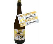 Bierpakket Verjaardagsbier 75cl + Kaart