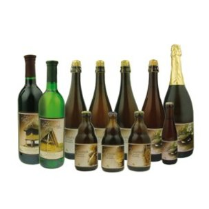 Fles bier 75 cl met eigen etiket
