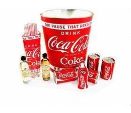 Set Coca Cola & Rutte oude 12 jenever