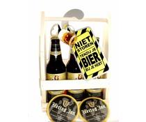 Biergeschenk bierrek Hertog-Jan
