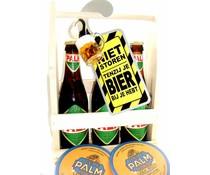Biergeschenk bierrek Palm