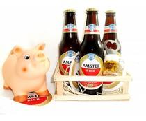 Bierpakket Spaarvarken Amstel