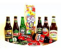 Bierpakket (Melkpak) Gefeliciteerd! 50 Sara