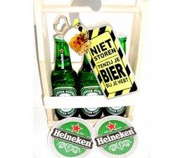 Biergeschenk bierrek Heineken