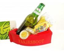 Sinterklaas bierpakket pakjesboot Grolsch