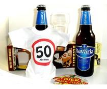 Abraham Bierpakket Bierfles T-Shirtje Bavaria