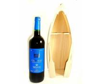 Cadeautips Rode Wijn Peddelboot Frankrijk