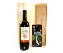 Cadeautips Rode Wijn Wijnkist Spanje