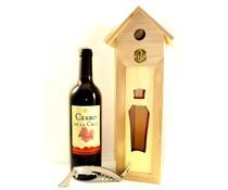 Cadeautips Rode Wijn Vogelhuisje Spanje