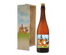 Bierkist Abraham 50 jaar blond Bier