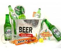 Cadeautips Bierpakket Heineken Bierkoeler + Flesopener