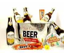 Cadeautips Bierpakket Alfa Bierkoeler + Flesopener