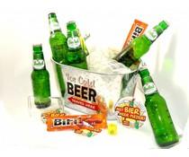 Cadeautips Bierpakket Grolsch Bierkoeler + Flesopener