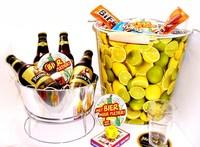 Cadeautip voor hem. Voor ieder budget een leuk en origineel bier-tuin bierpakket.