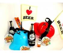 Bierpakket Warsteiner + Bierhelm