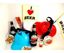 Bierpakket Amstel + Bierhelm