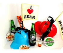 Bierpakket Heineken + Bierhelm