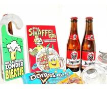 Cadeautips Bierpakket Jupiler Swaffelspel