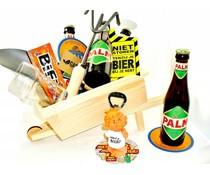 Cadeautips Bierpakket Palm Kruiwagen