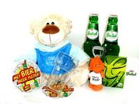 Cadeautip voor hem. Voor ieder budget een leuk en origineel beer + knuffel bierpakket.