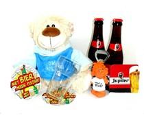 Cadeautips Bierpakket Jupiler Knuffelbeer