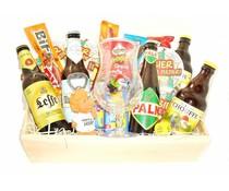 Biertje? Bierpakket Bier-dienblad Speciaal + Knabbels
