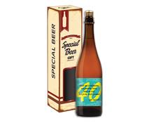 Biercadeau 40 jaar - Special beer gift Koker