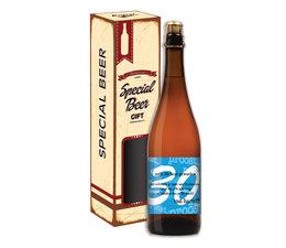 Biercadeau 30 jaar - Special beer gift Koker