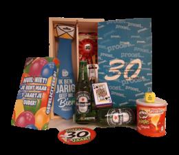 Biercadeau 30 jaar- Houten bierkist pilsje