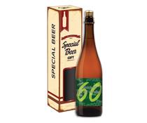 Biercadeau 60 jaar - Special beer gift Koker