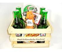 Cadeautip voor hem Bierkratje Heineken