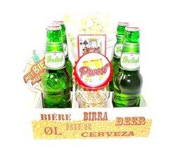 Cadeautip voor hem Bierbakje Grolsch