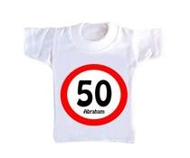 T-Shirtje - Verkeersbord 50