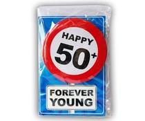 Abraham 50 jaar. Happy age kaart - 50+