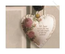 Abraham 50 jaar With all my Heart - 50 Gefeliciteerd