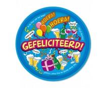 Gadgets Dienblad Gefeliciteerd