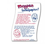 Gadgets Toiletpapier - Moppen rol