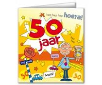 50 jaar Verjaardagskaart