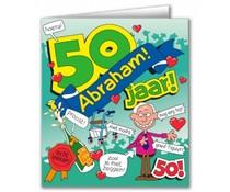 Abraham Verjaardagskaart