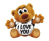 Funny Bear - I love you