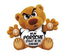 Funny Bear - Mijn porsche staat in de garage.