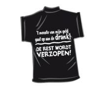 T-Shirtje-Meeste van mijn geld
