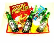 Bierpakket Strippoker Heineken