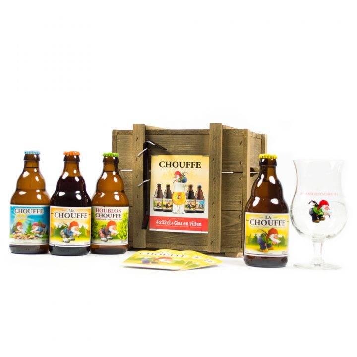 Bierpakket Chouffe Bierkist