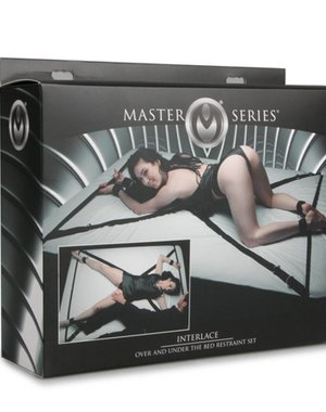 Master Series Interlace Bed Bondageset