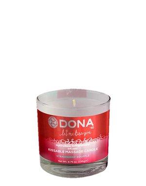 Dona-by-Jo Dona Kissable Massage Candle Strawberry