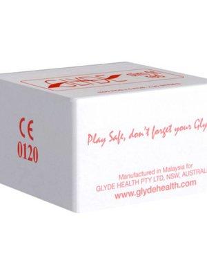 GLYDE Glyde Ultra Slimfit Rood - 100 Condooms